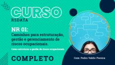 Curso Preparatório CAMINHOS PARA ESTRUTURAÇÃO GESTÃO E GERENCIAMENTO DE RISCOS OCUPACIONAIS - Completo 07:00h